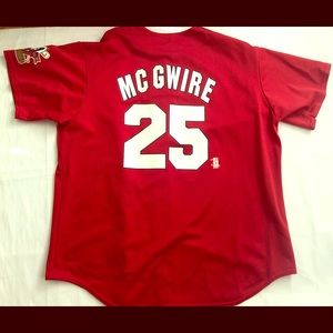Authentic Mark McGwire St. Louis Cardinals Jersey